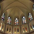 The Apse Of St. Patrick's Parish by Cora Wandel
