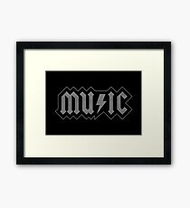 Music Framed Print