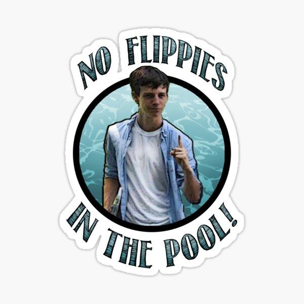 Keine Flippies im Pool! Sticker