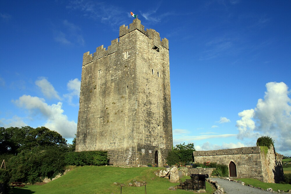 Quot Dysart O Dea Castle Quot By John Quinn Redbubble