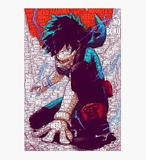 Izuku Midoriya - Boku no Hero Academia | My Hero Academia Photographic Print