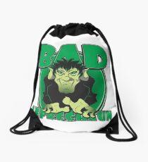 BAD LEPRECHAUN Drawstring Bag
