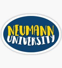 NEUMANN UNIVERSITY Sticker