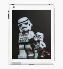 A Stormtrooper Father Son Moment iPad Case/Skin