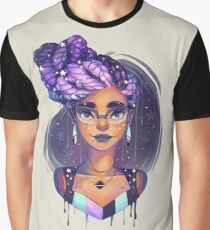 Goddess Braids Graphic T-Shirt