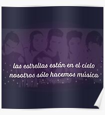 CNCO quote (big) Poster