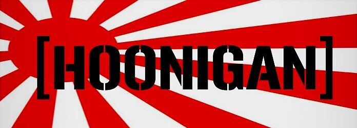 Hoonigan jdm sticker stickers by themangiola redbubble - Hoonigan logo ...