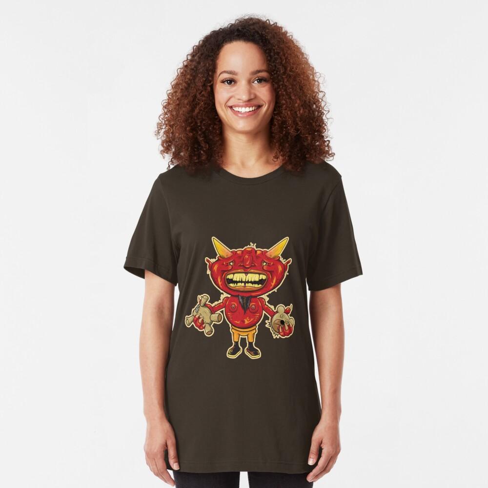 Teddy In Hell Slim Fit T-Shirt