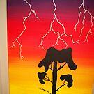 Lighting Bolt by Derek Trayner