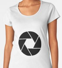 Camera Shutter Women's Premium T-Shirt