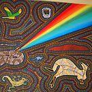 Rainbow serpent by Derek Trayner