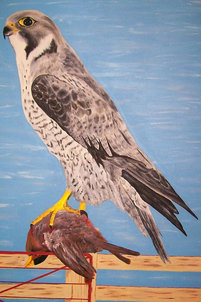 Bird of Prey by Derek Trayner