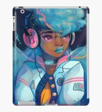 Space Letterman iPad Case/Skin