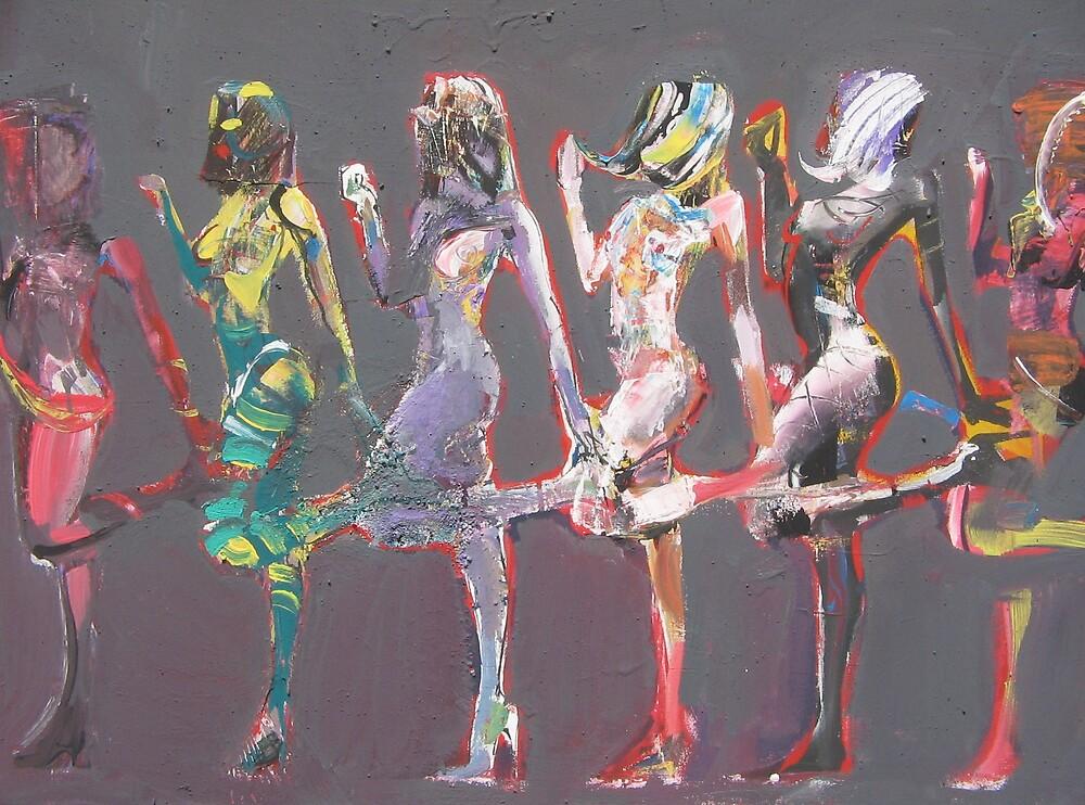 Erotic dance by Kirbo