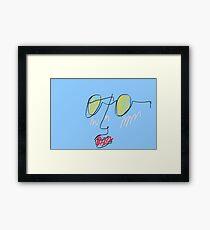 Cool Shades Framed Print