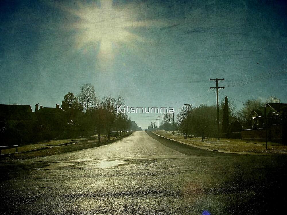 Morning Town, Maitland Street, Uralla, New South Wales by Kitsmumma