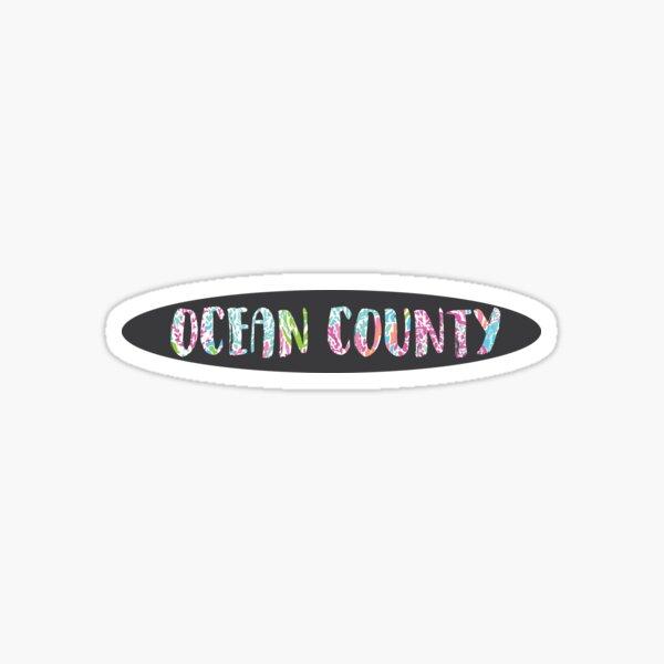 OCEAN COUNTY Sticker