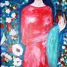 """""""  lady with perfume """" by catherine walker"""