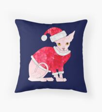 Christmas Clive Throw Pillow