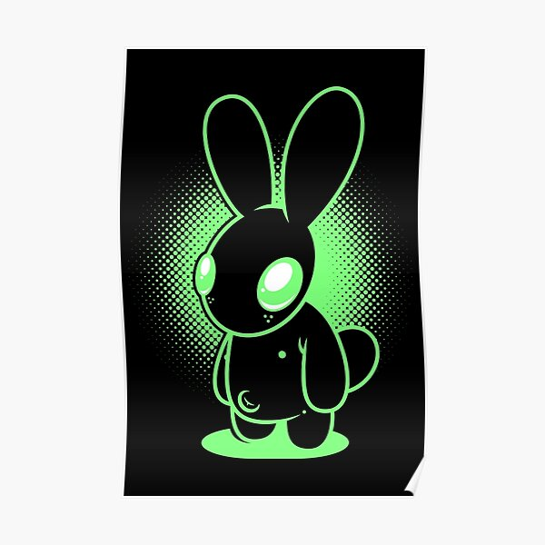 Night Bunny Poster