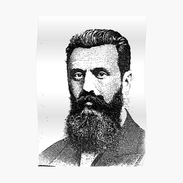 Theodor Herzl Poster