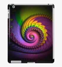psychedelic, FRACTAL BUDS, prints, posters, wall art, decor, gifts iPad Case/Skin