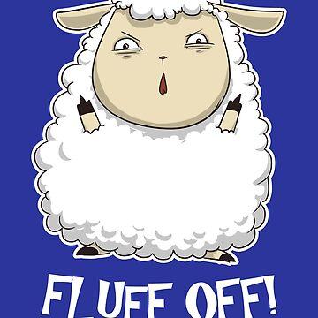 Fluff Off! by AlanBaoArt