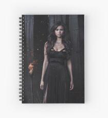 Katherine Pierce - The Vampire Diaries - Season 5 - Promotional Poster Spiral Notebook
