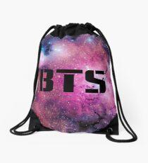 BTS Logo Drawstring Bag