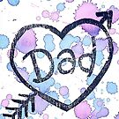 Fathers Day Card by SpottiClogg