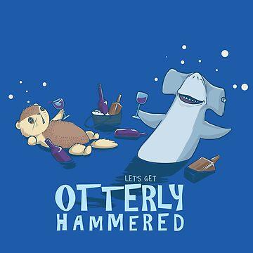 Otterly Hammer by AlanBaoArt