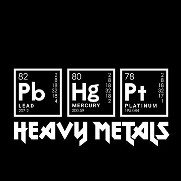 Heavy Metals by AlanBaoArt