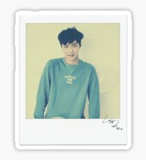 Lay Signed Polaroid Sticker Sticker