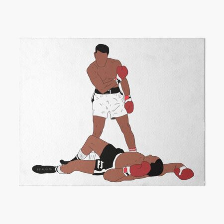 Muhammad Ali Iconic Pose Art Board Print
