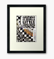 Christmas Is ... Framed Print
