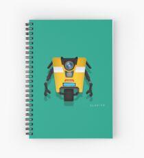 CL4P-TP (Claptrap) Spiral Notebook