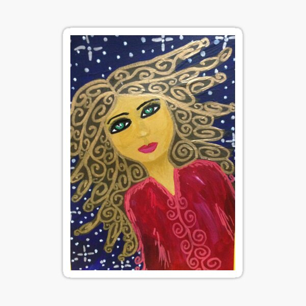 Star Angel Sticker
