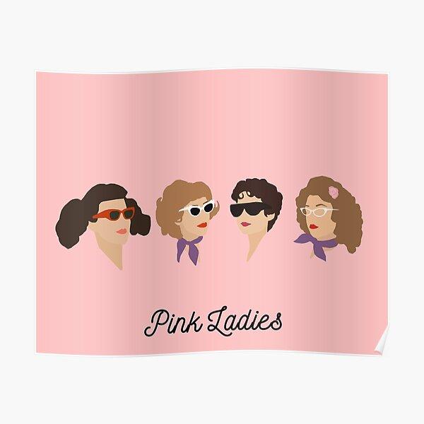Damas rosadas Póster