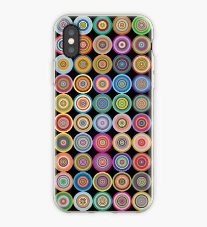 Retro Circles iPhone Case