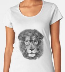 Nerd Lion Women's Premium T-Shirt