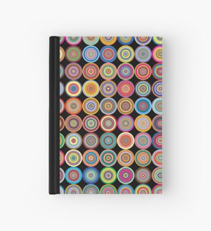 Retro Circles Hardcover Journal