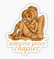 Just one more chapter... Sticker