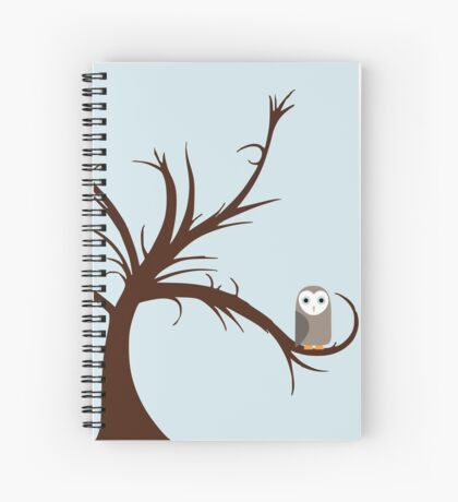 Owls in the Tree Spiral Notebook