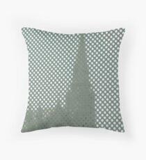 Through a Window Dimly (Two) Throw Pillow