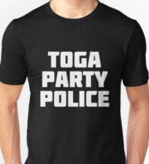 Toga Party Police   Disguise Police T-Shirt T-Shirt