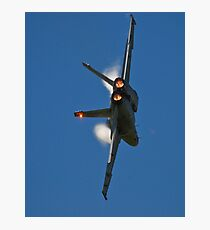 F/A-18 Knife-Edge Pass Photographic Print