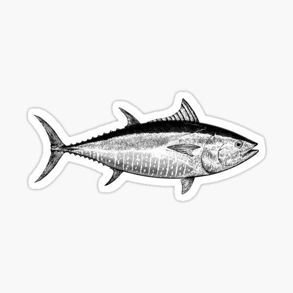 Blue Fin Tuna Sticker