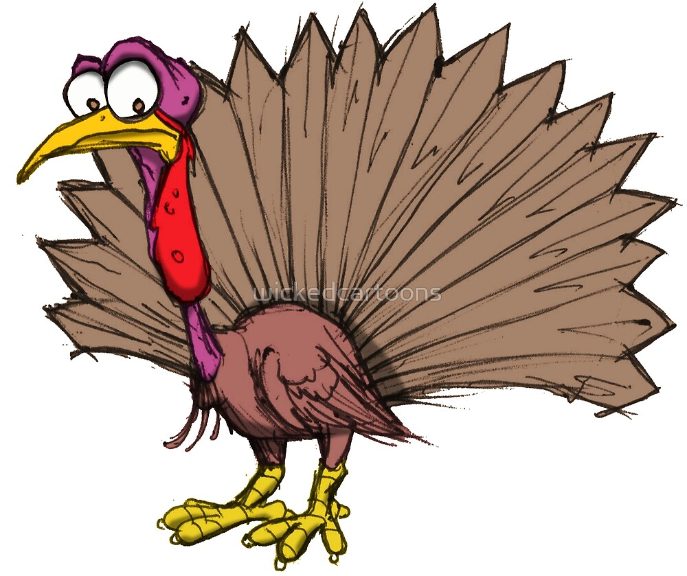 TURKEY by wickedcartoons