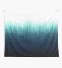 Teal Ombre  Wall Tapestry