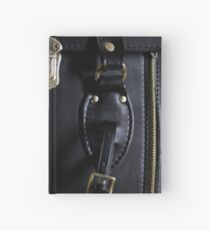 Leather and Zippers Hardcover Journal